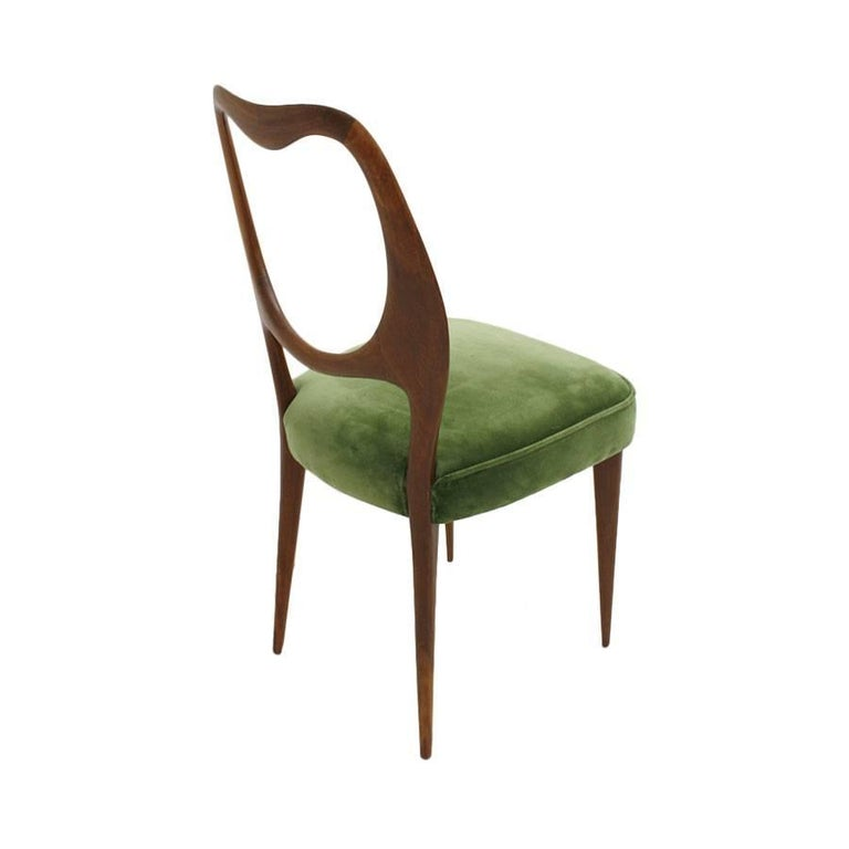 Set of Eight Chairs Designed by Vittorio Dassi 5
