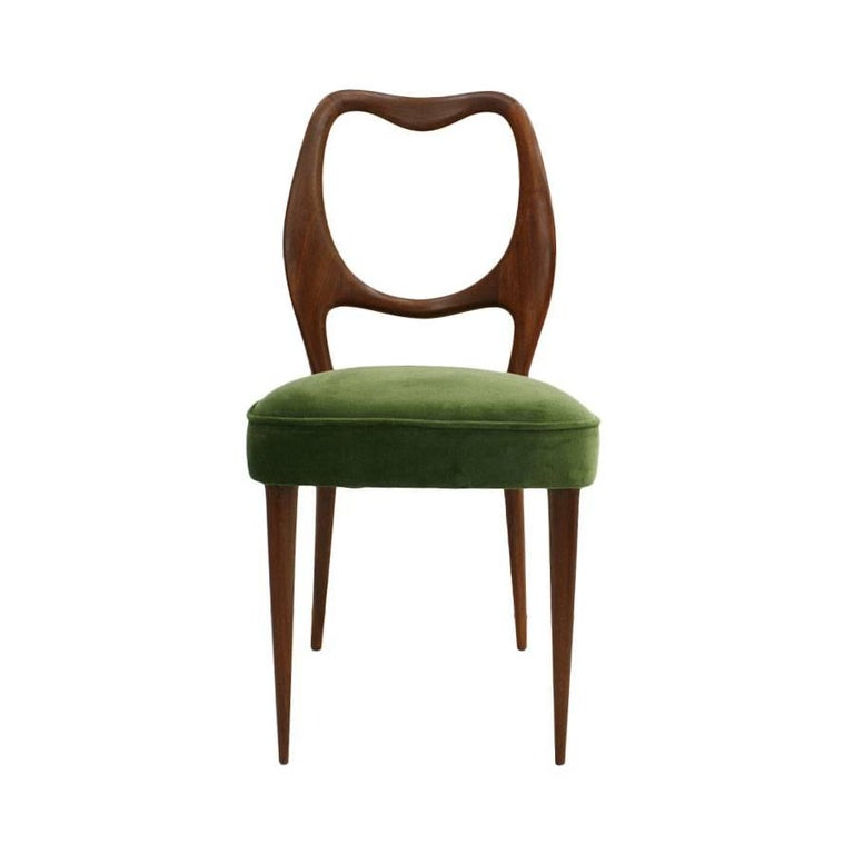 Set of Eight Chairs Designed by Osvaldo Borsani 2