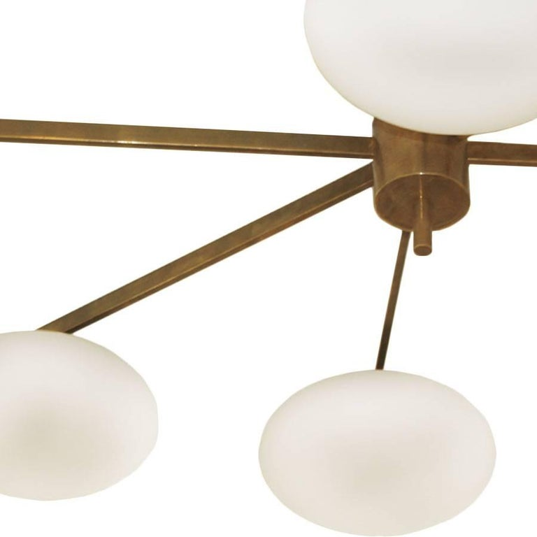 Ceiling Lamp in the Style of Angelo Lelli In Excellent Condition For Sale In Madrid, ES
