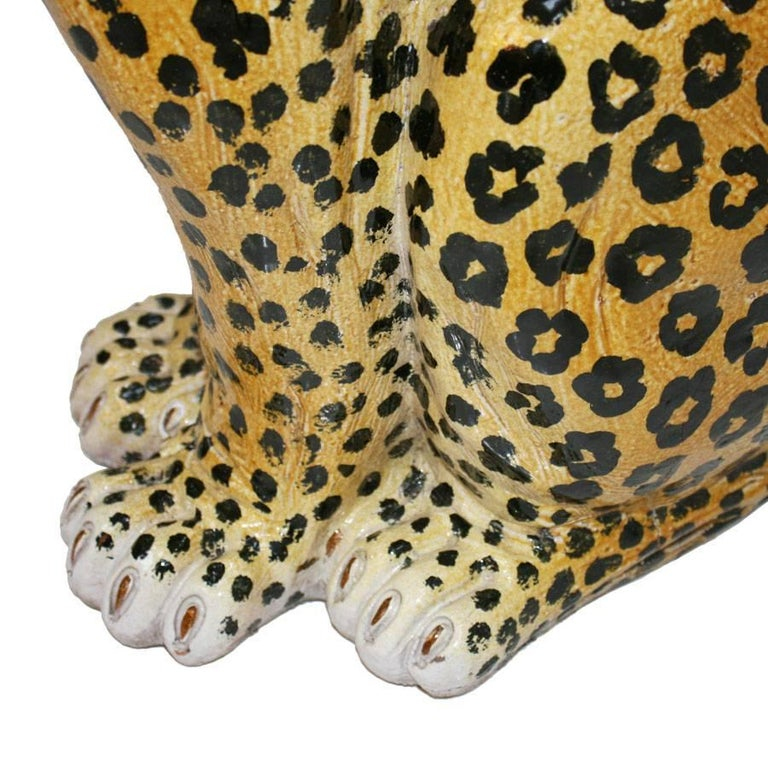 French Leopard Sculpture In Excellent Condition For Sale In Madrid, ES