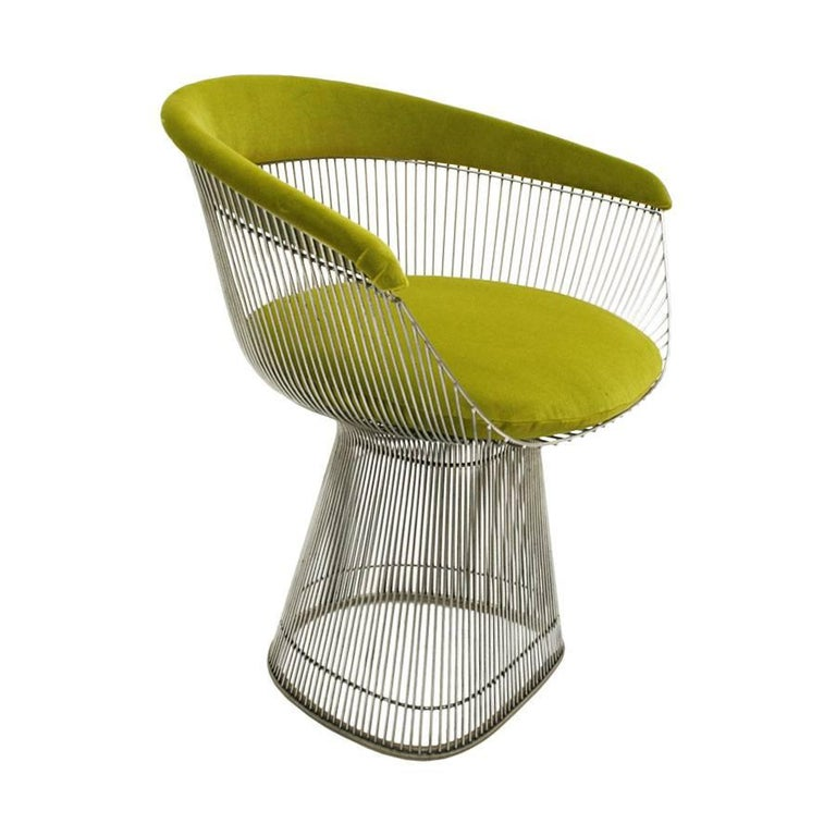 American Set of two Chairs Designed by Warren Platner and Edited by Knoll For Sale
