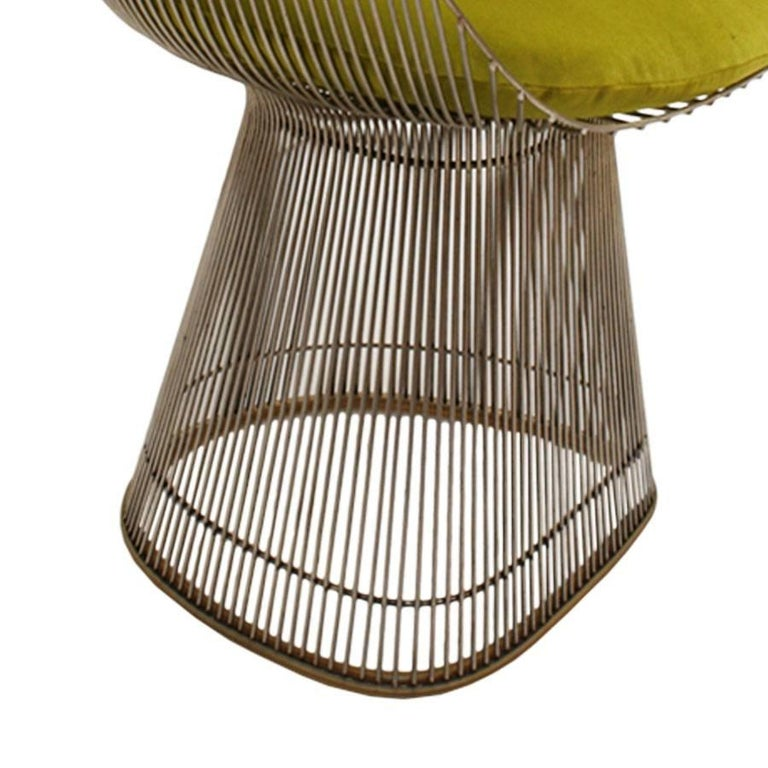 Metal Set of two Chairs Designed by Warren Platner and Edited by Knoll For Sale