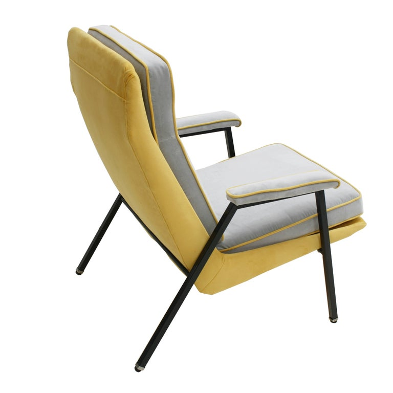 French Armchair Designed by Pierre Guariche, France, 1950 For Sale