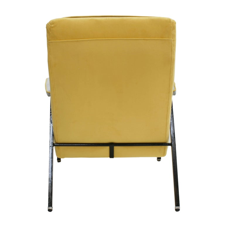 Armchair Designed by Pierre Guariche, France, 1950 In Good Condition For Sale In Madrid, ES
