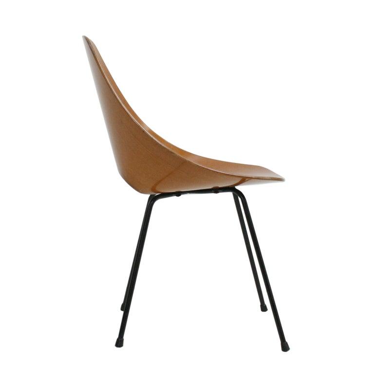 Mid-Century Modern Vittorio Nobili Set of Six Chairs Model