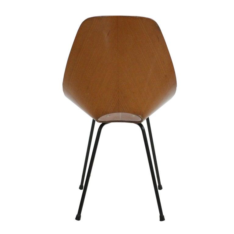 Vittorio Nobili Set of Six Chairs Model