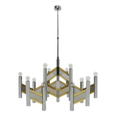 """Pending Lamp Mod """"Concorde"""" Designed by Gaetano Sciolari"""