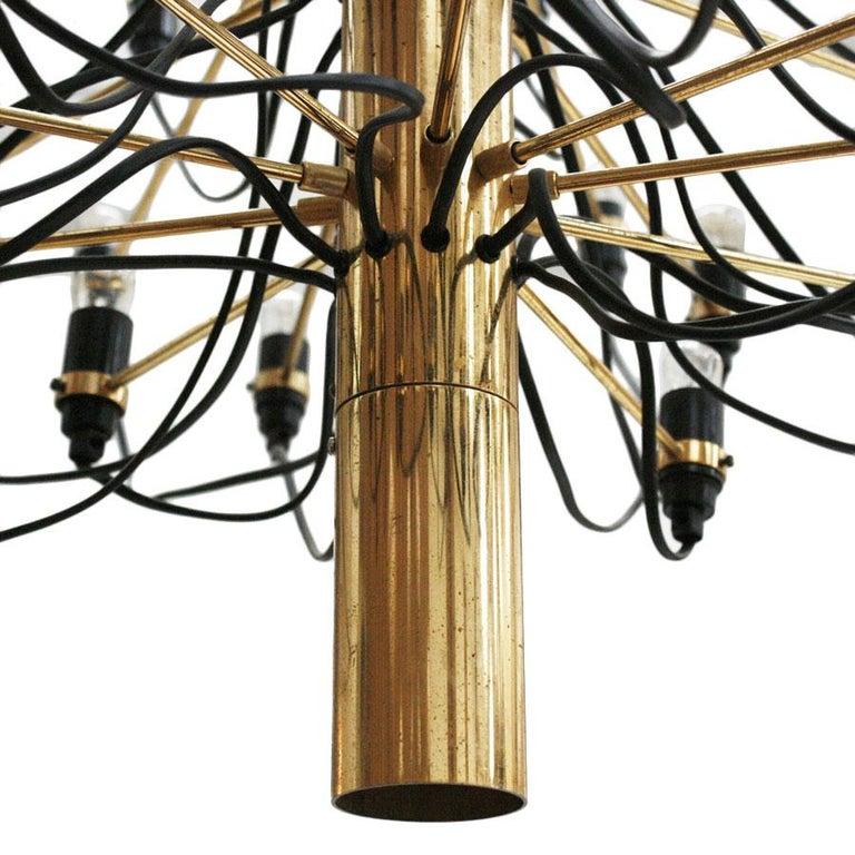 Brass Gino Sarfatti Pendant Lamp Model