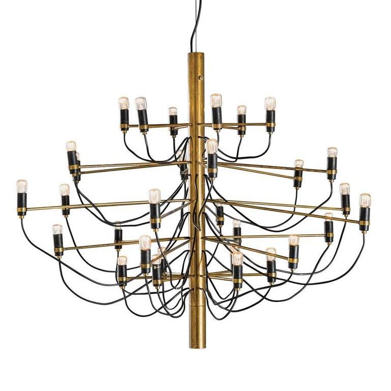 Pendant lamp by Gino Sarfatti model