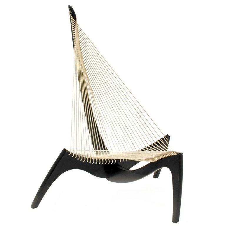 """Harp"" Chair Designed by Jørgen Høvelskov, Denmark, 1968 For Sale"