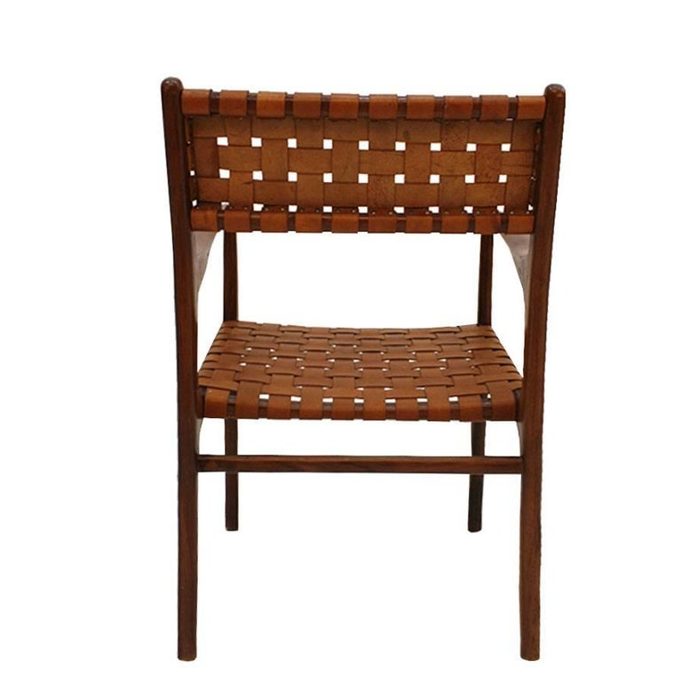 Mid-20th Century Jens Risom Mid-Century Modern Set of Eight Chairs, USA 1950s For Sale