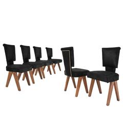 Set of chairs designed by Pierre Jeanneret