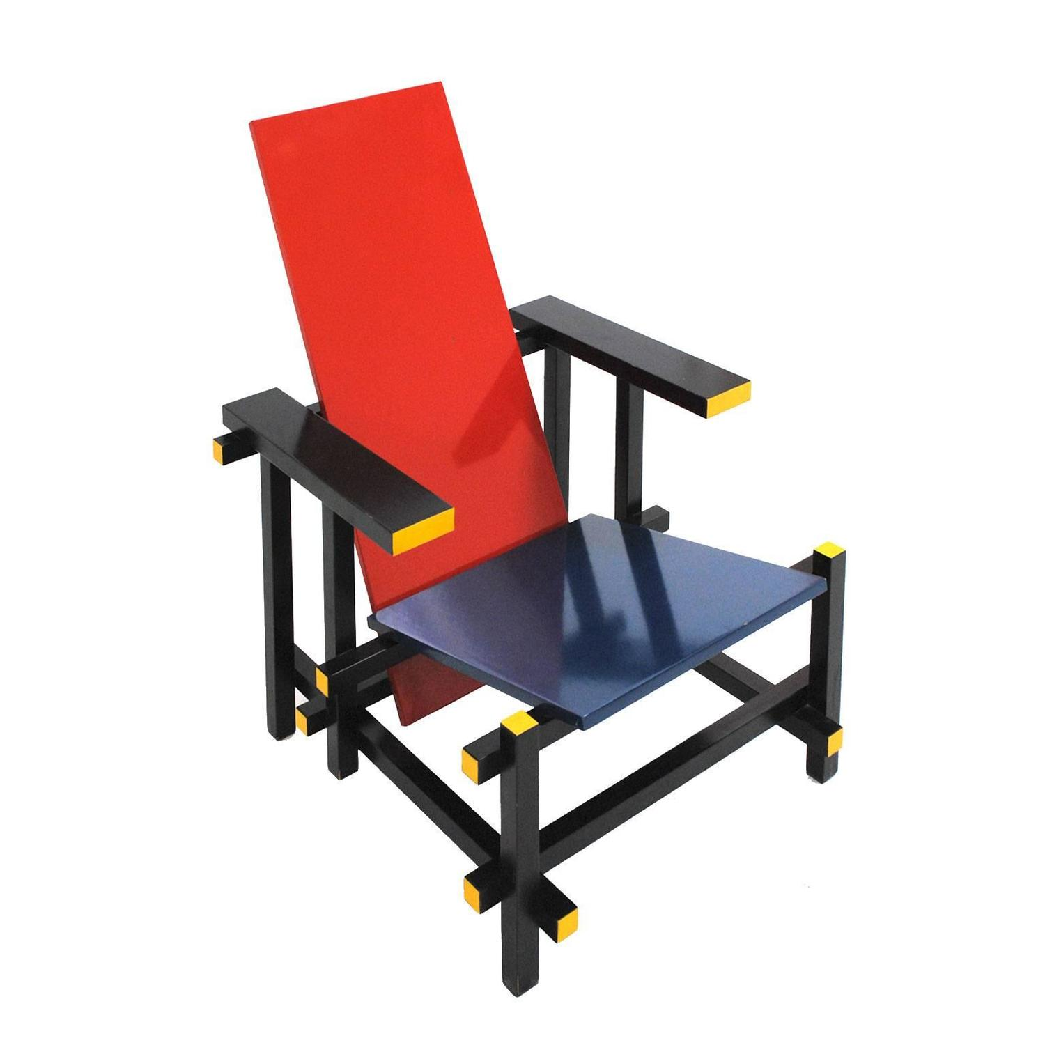 Red and Blue 365 Chair by Gerrit Thomas Rietveld for ...Gerrit Rietveld Chair