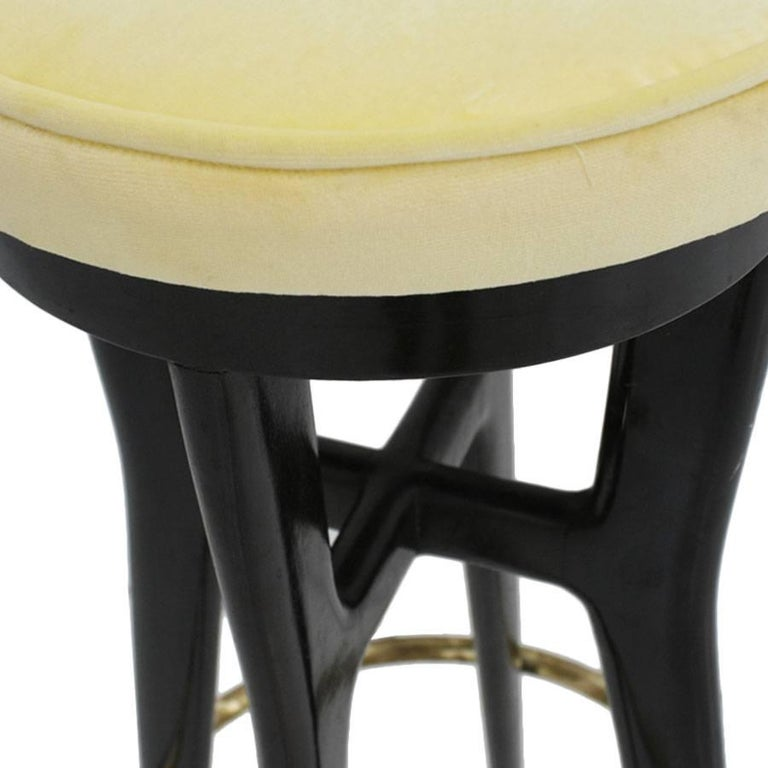 Italian Pair of Stools, Italy, 1950s For Sale