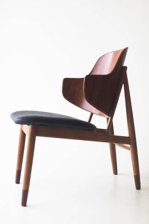 Mid-Century Modern Ib Kofod-Larsen Chair for Christensen & Larsen For Sale