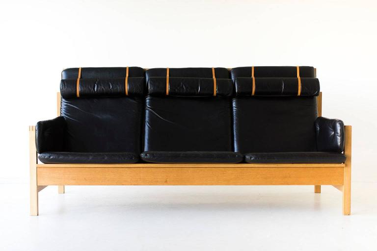 Mid-Century Modern Børge Mogensen Sofa for Fredericia Stolefabrik For Sale
