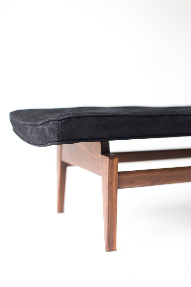 Jens Risom Bench for Risom Design Inc. In Excellent Condition For Sale In Oak Harbor, OH