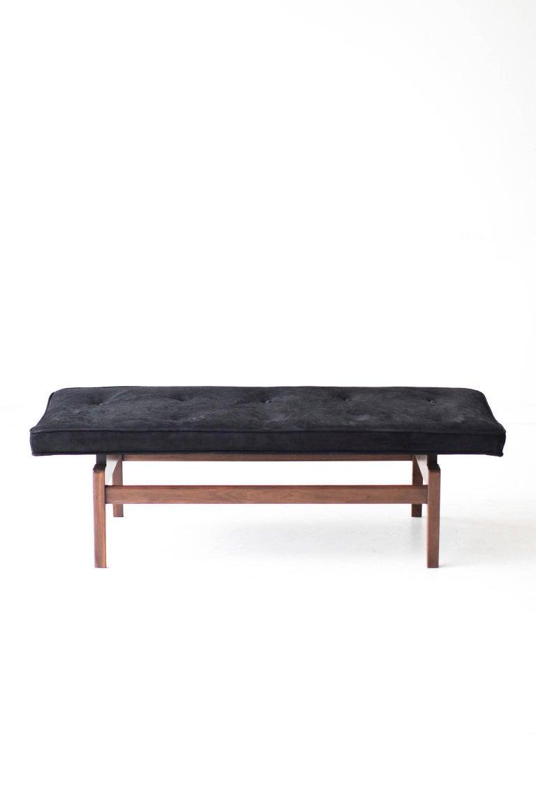 Mid-Century Modern Jens Risom Bench for Risom Design Inc. For Sale