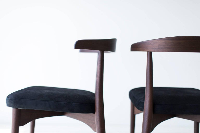 Mid-Century Modern Lawrence Peabody Dining Chairs for Craft Associates For Sale