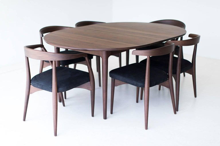 Contemporary Lawrence Peabody Dining Chairs for Craft Associates For Sale