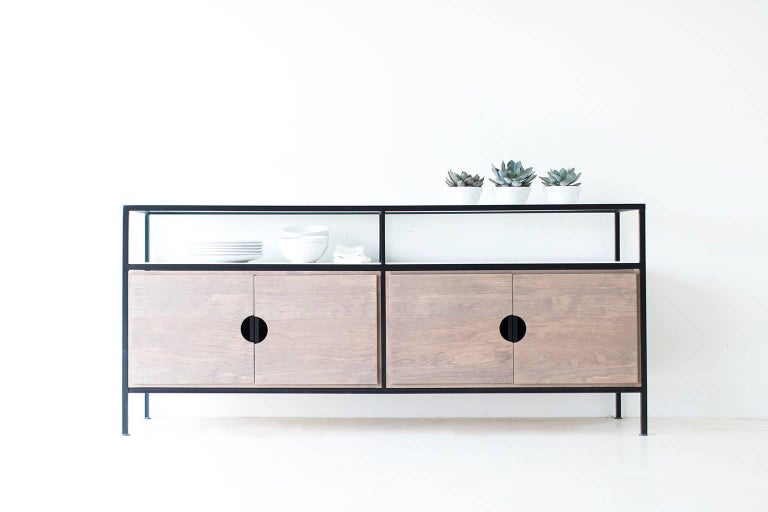 Modern Iron Credenza For Sale 2