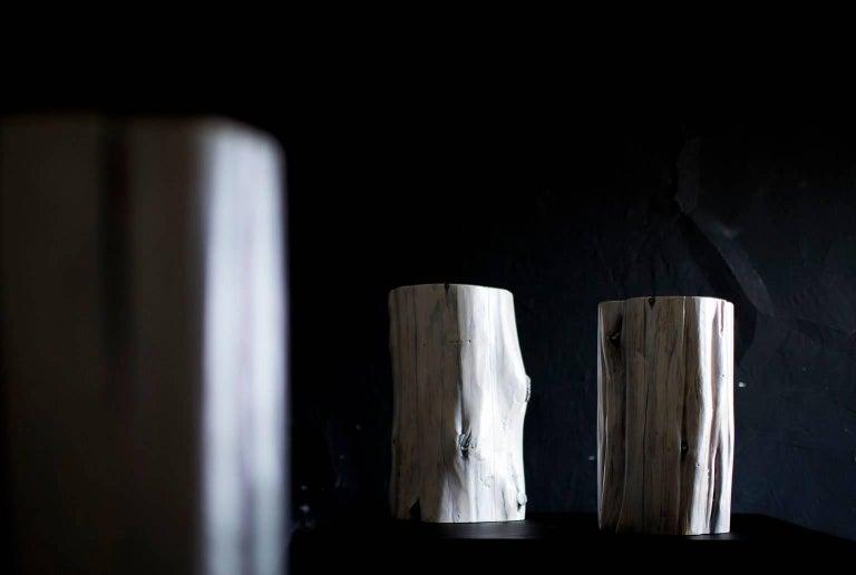 Cedar Modern Tree Stump Tables For Sale