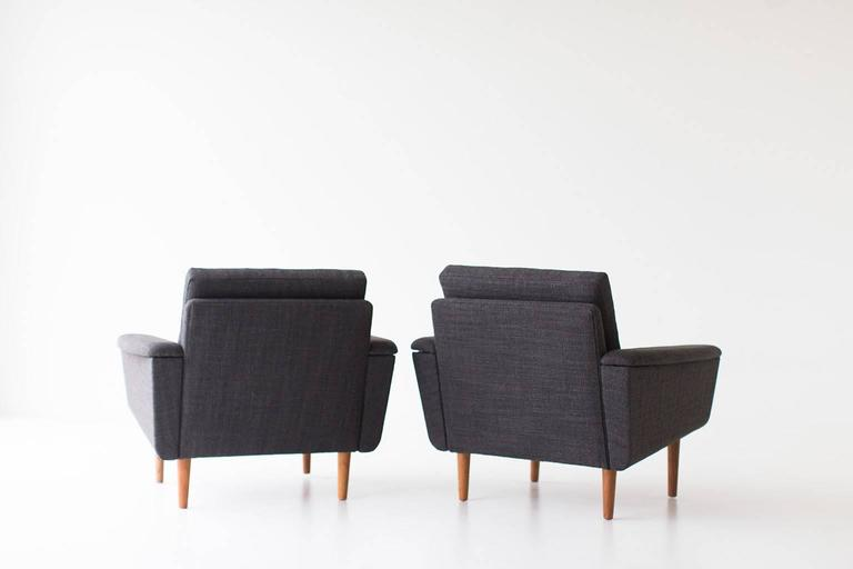 Folke Ohlsson Lounge Chairs for DUX In Excellent Condition For Sale In Oak Harbor, OH