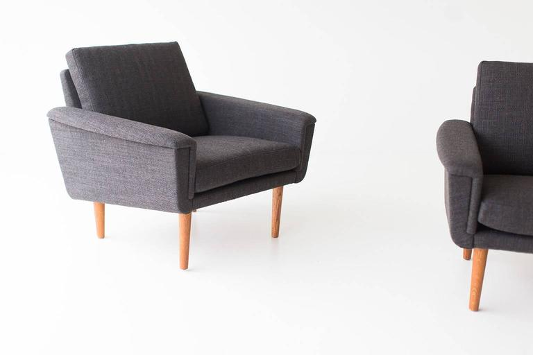 Folke Ohlsson Lounge Chairs for DUX For Sale 2