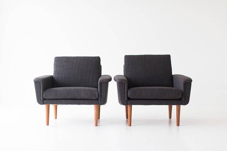 Folke Ohlsson Lounge Chairs for DUX For Sale 3