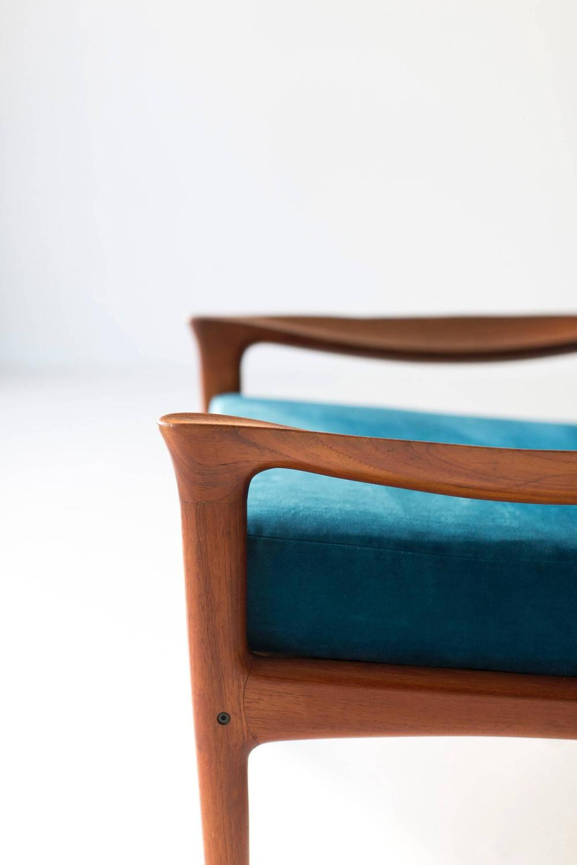 Danish Teak Lounge Chairs by Glostrup Mobelfabrik For Sale
