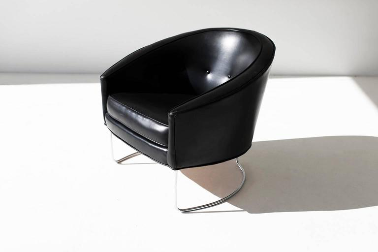 Mid-Century Modern Lawrence Peabody Lounge Chair for Nemschoff For Sale