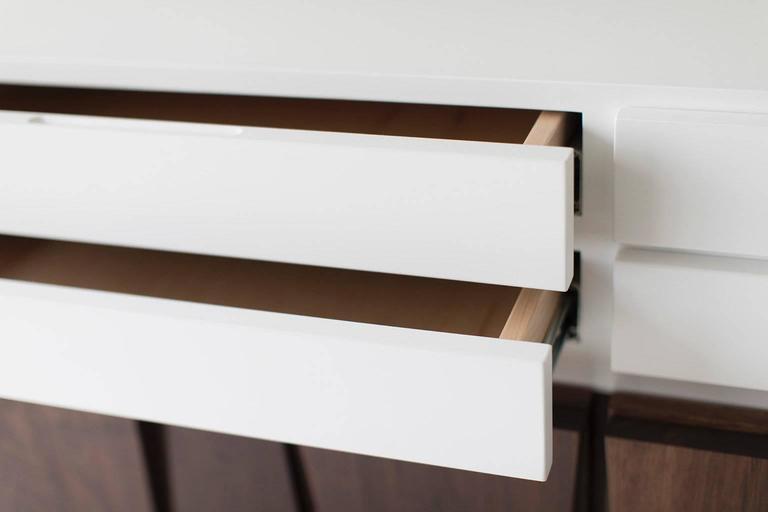 Oiled Modern Dresser - 1608 - Craft Associates® Furniture For Sale