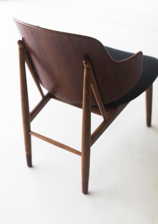Oiled Ib Kofod-Larsen Chair for Christensen & Larsen For Sale