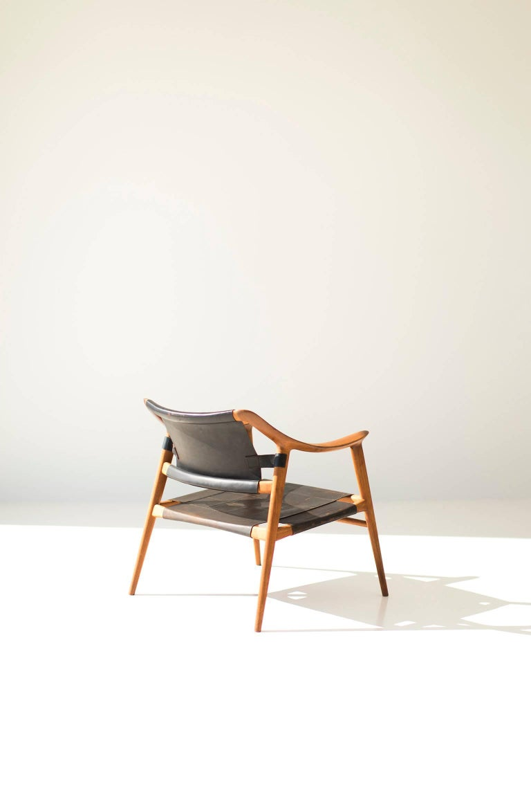 Mid-Century Modern Rastad and Relling Bambi Lounge Chair for Gustav Bahus For Sale
