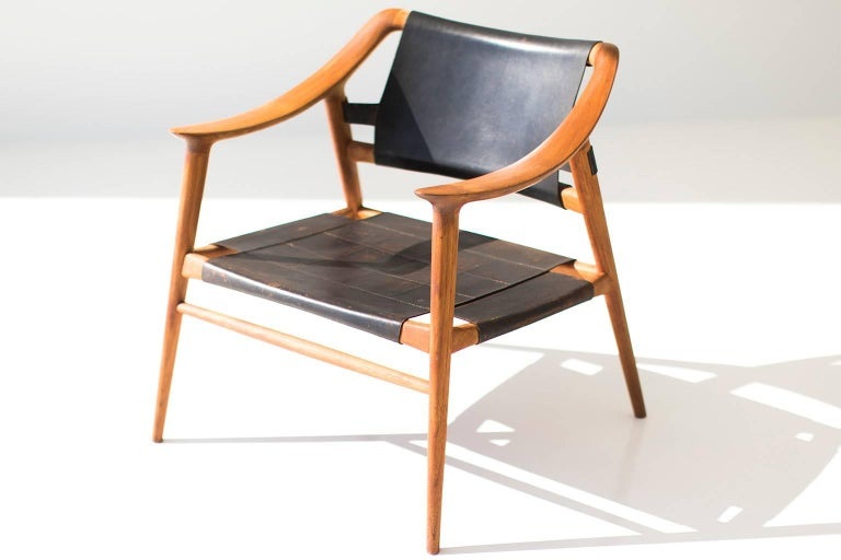 Norwegian Rastad and Relling Bambi Lounge Chair for Gustav Bahus For Sale