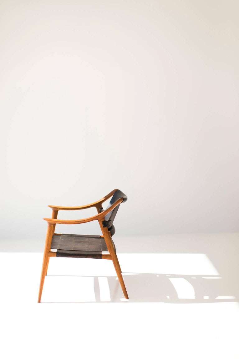 Mid-20th Century Rastad and Relling Bambi Lounge Chair for Gustav Bahus For Sale