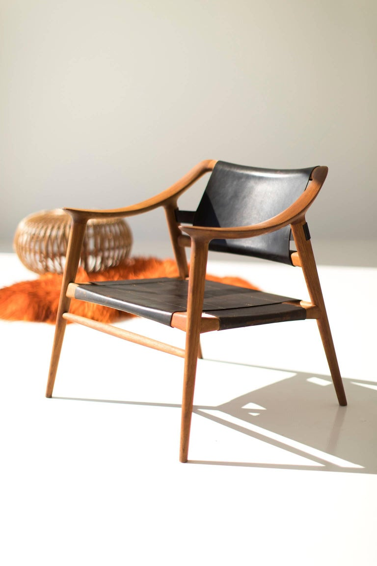 Rastad and Relling Bambi Lounge Chair for Gustav Bahus For Sale 3