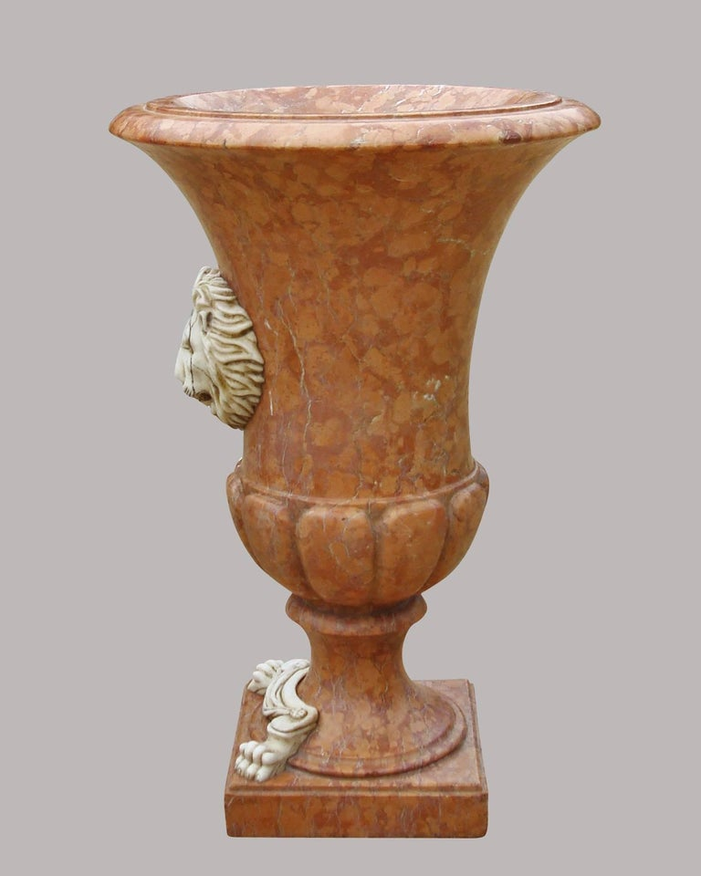 19th century italian large marble urn for sale at 1stdibs - Large decorative vases and urns ...