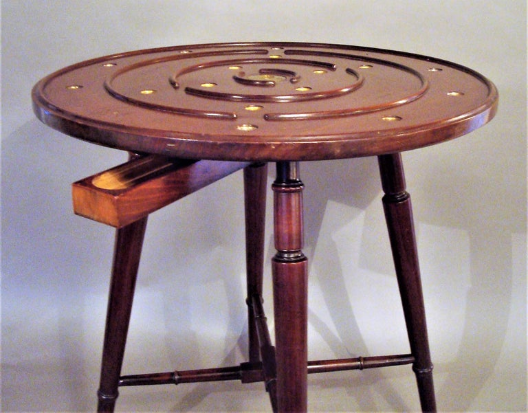 Late 19th Century Mahogany Golf Game Table In Good Condition For Sale In Moreton-in-Marsh, Gloucestershire
