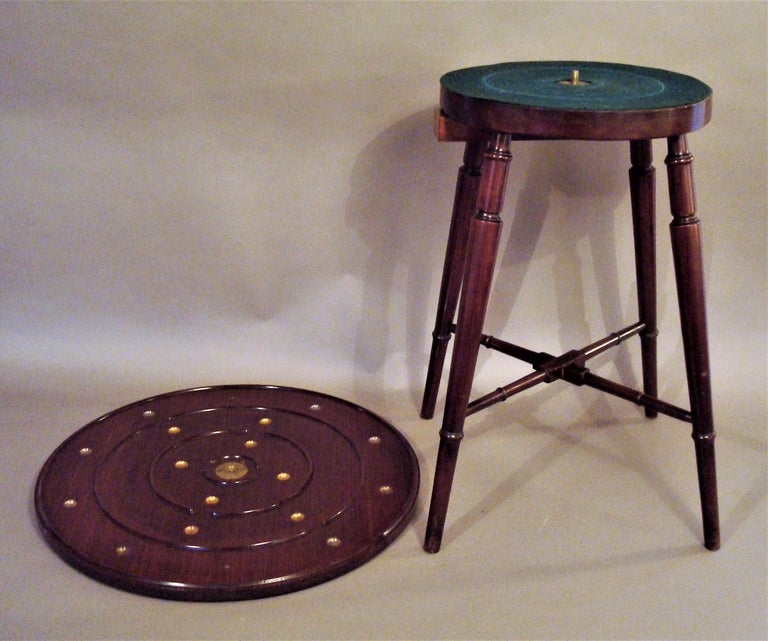 Late 19th Century Mahogany Golf Game Table For Sale 1