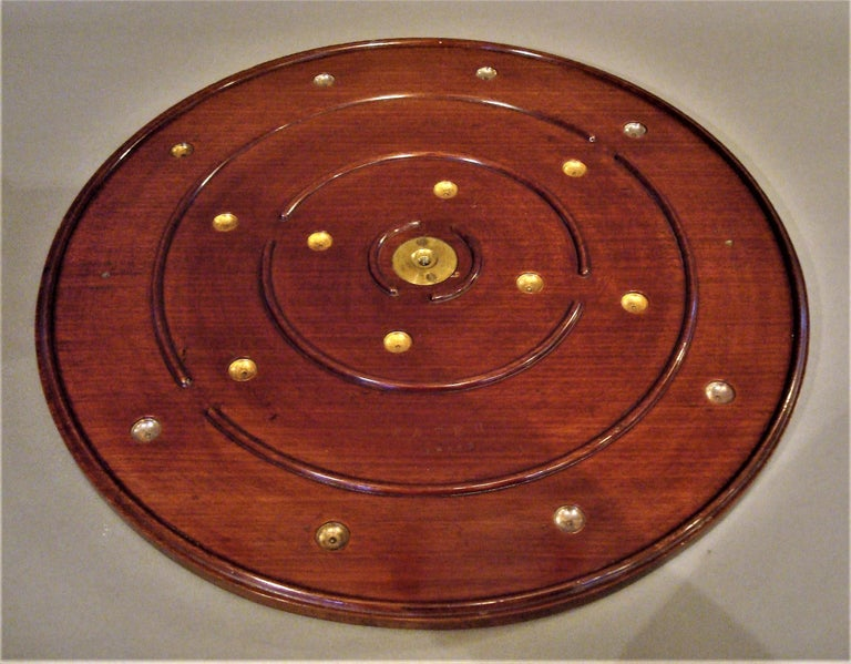 Late 19th Century Mahogany Golf Game Table For Sale 2