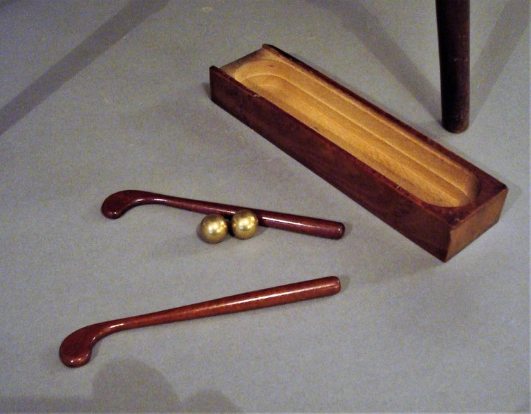 Late 19th Century Mahogany Golf Game Table For Sale 4