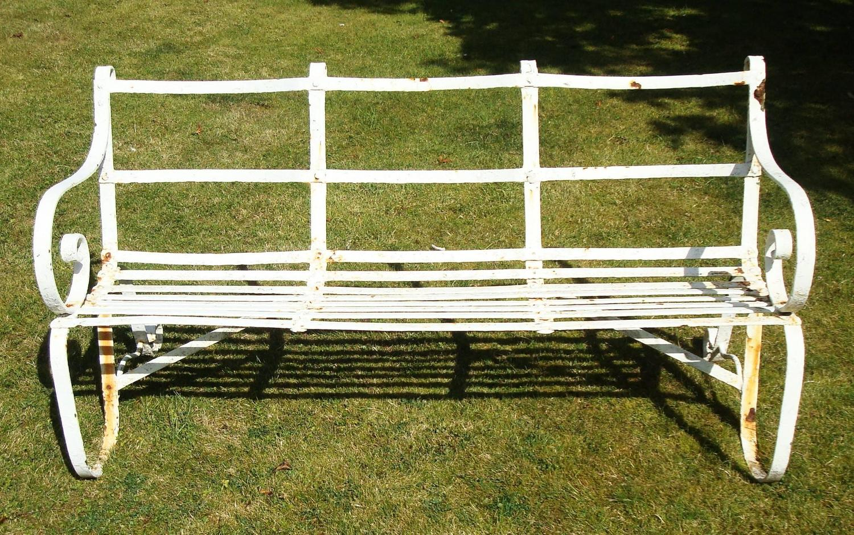 Wrought Iron Garden Bench Seat 28 Images Regency