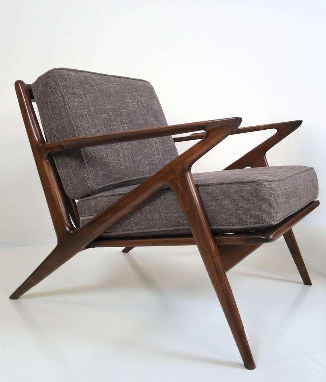 Pair of z chairs by poul jensen for selig at 1stdibs for Poul jensen z chair