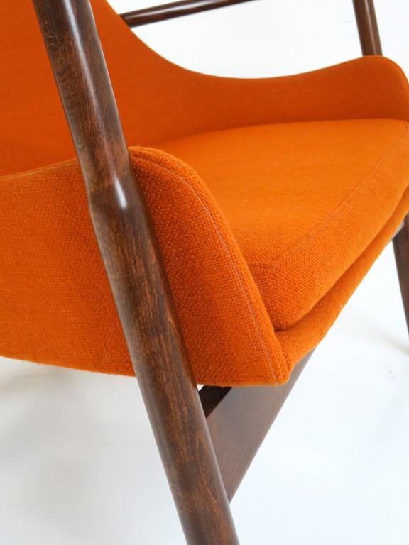 Rare Ib Kofod-Larsen Lounge Chair and Ottoman for Selig For Sale 2