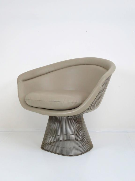 Mid-Century Modern Warren Platner Lounge Chair for Knoll Inc For Sale