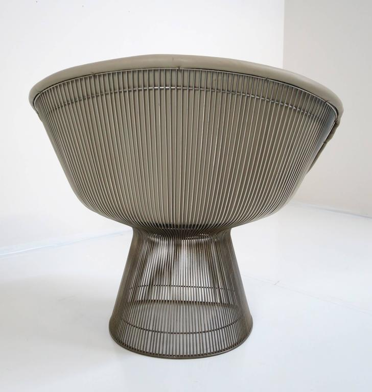 American Warren Platner Lounge Chair for Knoll Inc For Sale