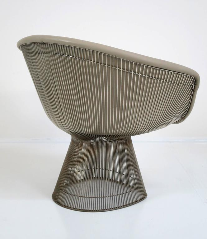 Warren Platner Lounge Chair for Knoll Inc In Good Condition For Sale In San Diego, CA