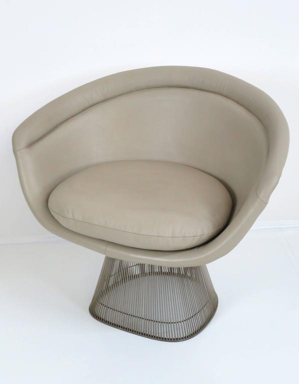 Mid-20th Century Warren Platner Lounge Chair for Knoll Inc For Sale