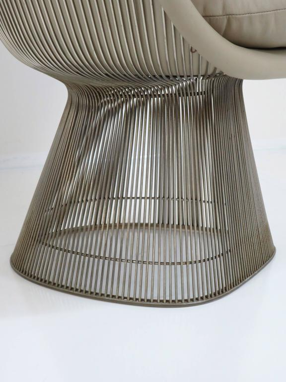 Warren Platner Lounge Chair for Knoll Inc For Sale 1